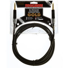 Mogami Gold 1/4 TRS Cable 10ft