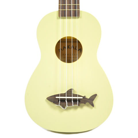 Makala Shark Composite Soprano Ukulele Yellow