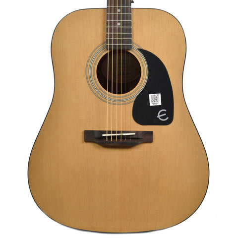 Epiphone PRO-1 Dreadnought Acoustic Natural CH Floor Model