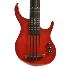 Kala U-Bass Solid Body 4-String Fretted Satin Red