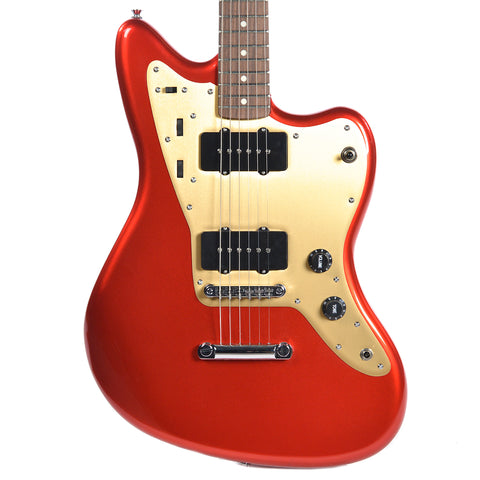 Squier Deluxe Jazzmaster ST RW Fingerboard Candy Apple Red