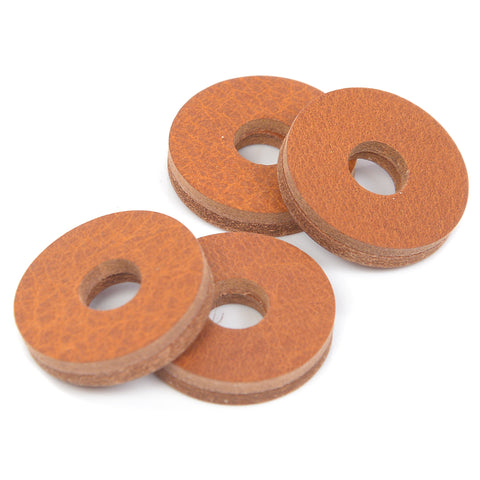 Tackle Leather Cymbal Washers - 4 pack