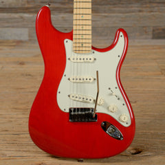 Fender American Deluxe Stratocaster Red 2001 (s968)