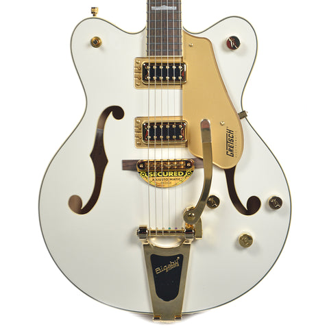 G5422TG Electromatic Hollow Body with Bigsby Double-cut Snowcrest White