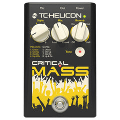 TC Helicon Critical Mass Vocal Stompbox