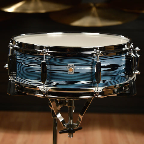 Ludwig 5x14 Club Date Snare Drum Blue Strata