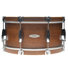 C&C 7x14 Walnut/Luan/Walnut Snare Drum w/7-Ply Maple Re-Rings & Walnut Wood Hoops