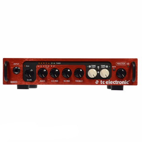 TC Electronic BH800 800W Bass Amp Head
