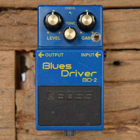 Boss BD-2 Blues Driver w/Keeley Mods USED