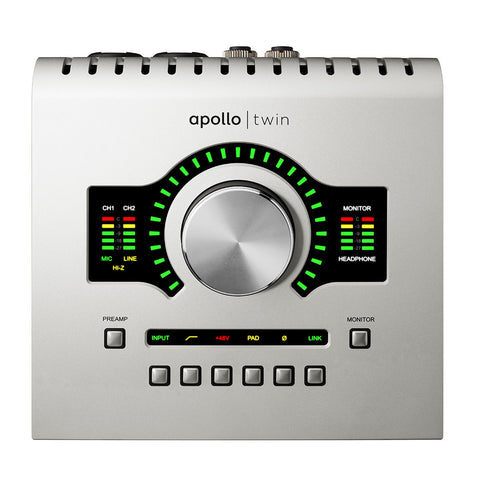 Universal Audio Apollo Twin w/DUO Processing Interface (Thunderbolt-ready)
