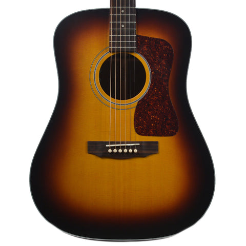 Guild USA D-40 Dreadnought Sitka Spruce/Mahogany Antique Burst w/LR Baggs Pickup