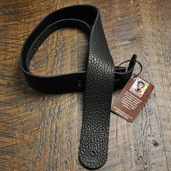Lakota Leathers Guitar Strap 2 Inch Black
