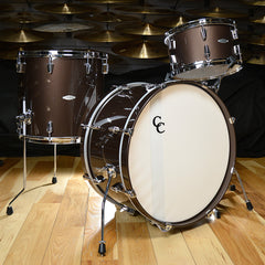 C&C Maple/Gum 13/16/22x12 3pc Kit Chocolate Brown High Gloss Lacquer