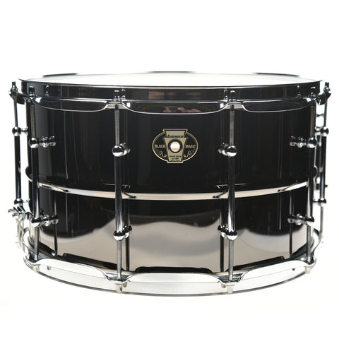 Ludwig 8x14 Black Magic Snare Drum