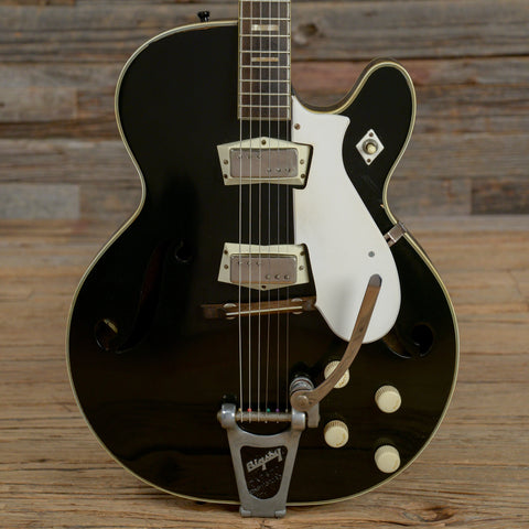 Silvertone 1446 Chris Isaak Black 1960s