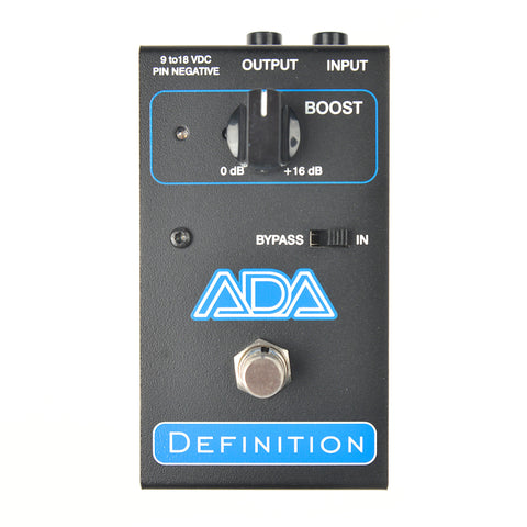 A/DA Definition Pre-Ampilifier