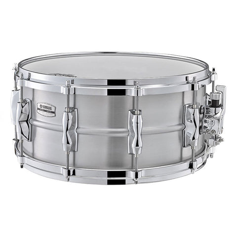 Yamaha 6.5x14 Recording Custom Aluminum Snare Drum, 1.2mm Shell
