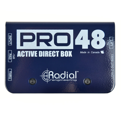 Radial Pro48 Active DI