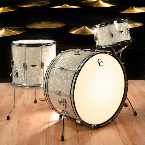 C&C Player Date 2 13/16/24 3pc Big Band Kit Aged Marine Pearl