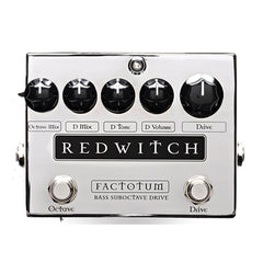 Red Witch Factototum Bass Suboctave Drive Pedal