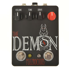 Fuzzrocious Demon Med/High Overdrive w/Latching Feedback Mod Black