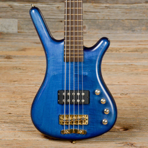 warwick fna 5 string bass transparent blue used s100 chicago music exchange. Black Bedroom Furniture Sets. Home Design Ideas