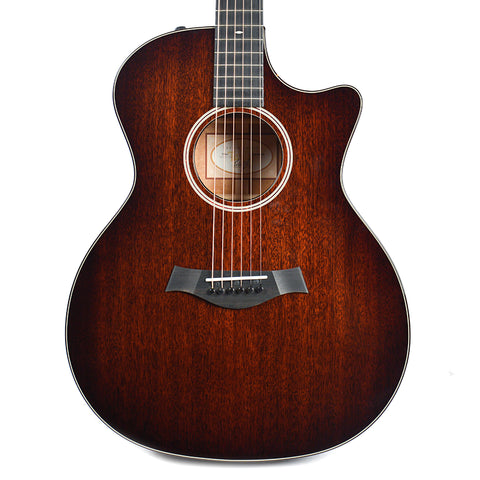 Taylor 524ce Grand Auditorium Tropical Mahogany Shaded Edgeburst ES2