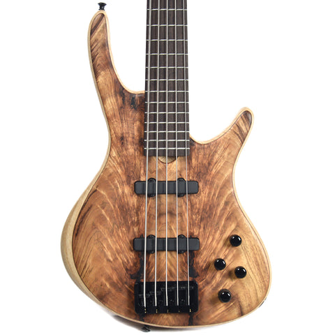Roscoe Century Standard 5 Plus, Koa Top, Swamp Ash Body (Serial #I012)