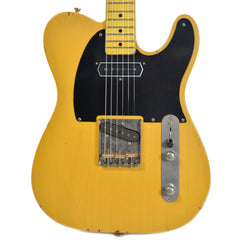 Nash T-52 Butterscotch Blonde Light Relic w/1-Ply Black Pickguard & Lollar Charlie Christian (Serial #CHI-317)