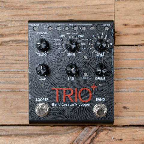 Digitech Trio Plus Band Creator with Looper Pedal USED