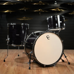 C&C Gladstone 13/16/22x16 3pc Kit Ebony Gloss w/Gold Glitter Inlay