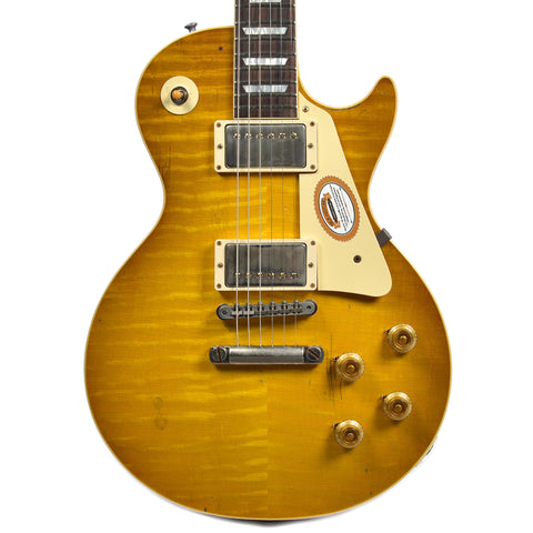 Gibson Custom Shop Limited Run Mike Reeder 1959 Les Paul Reeder Burst Aged (Serial #CC31A007)