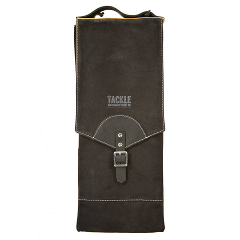 Tackle Waxed Compact Stick Bag Black