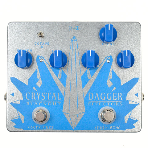 Blackout Effectors Crystal Dagger Octave Fuzz, Ring Mod & Phaser