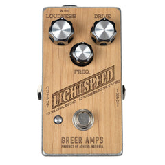 Greer Amps Wooden Lightspeed Organic Overdrive