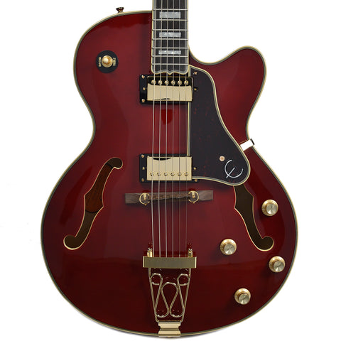 Epiphone Joe Pass Emperor-II Pro Wine Red GH