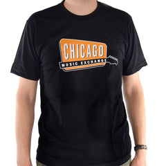 Chicago Music Exchange Classic Logo T-Shirt Black Adult
