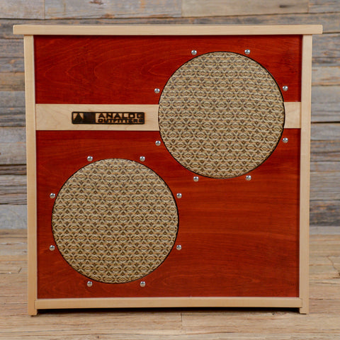 Analog Outfitters 2x12 80W 4/16ohm Speaker Cabinet (Serial #123) USED