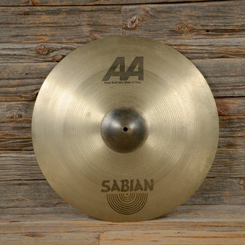 Sabian 21 Inch AA Raw Bell Ride USED