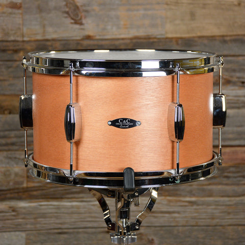 C&C Player Date 1 8x13 Rack Tom Natural Mahogany USED