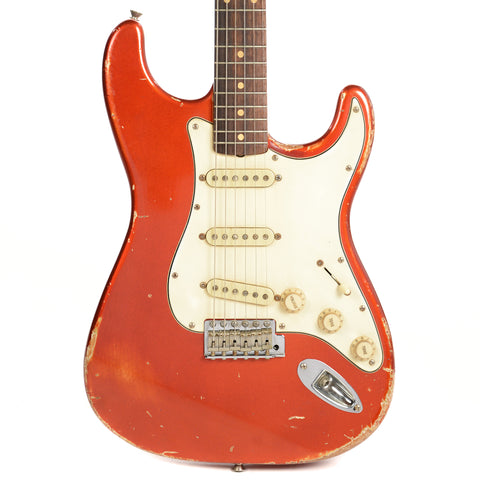 RebelRelic S-Series 62 Candy Apple Red RW w/Rebel Vintage Custom Wound Pickups (Serial-62194)