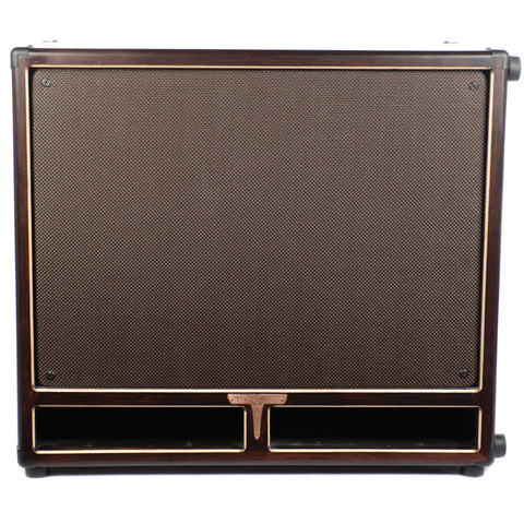 Tyrant Tone 2x12 Bass Cab Mahogany and Chocolate