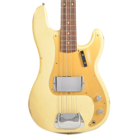 Fender Custom Shop 1959 Precision Bass Relic RW Aged Vintage Blonde (Serial #R88115)