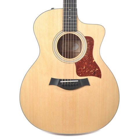 Taylor 214ce Deluxe Sitka/Quilted Maple Natural ES2