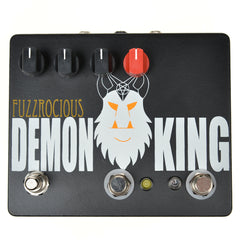 Fuzzrocious Demon King Med/High Overdrive w/Momentary Feedback CME Exclusive Black/Orange