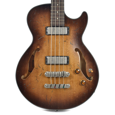 Ibanez AGBV200ATCL Artcore Vintage Bass Tobacco Burst Low Gloss