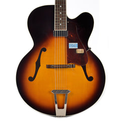 Gibson Solid Formed 17 Hollowbody Venetian Cremona Brown Floor Model