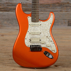 Fender American Deluxe Stratocaster RW Chrome Red 2003 (s544)