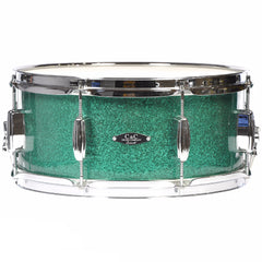 C&C 6.5x14 Player Date 2 Snare Drum Green Sparkle