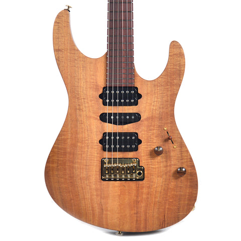 Suhr Custom Modern Curly Koa Natural Oil (Serial #28743)